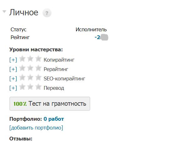 минусовой рейтинг на Etxt